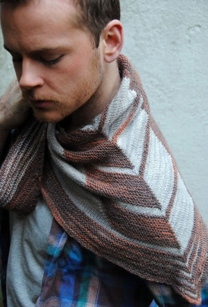 Chevry Shawl Pattern by West Knits-Patterns-
