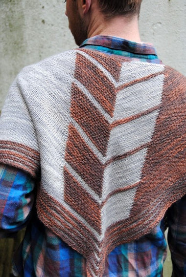Chevry Shawl Pattern by West Knits  - 1
