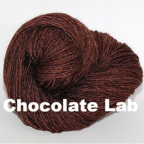 Paradise Fibers Yarn Ancient Arts DK Yarn - Woof Collection Chocolate Lab - 8