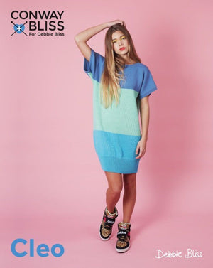 Conway + Bliss for Debbie Bliss Cleo Colour Block Tunic Pattern-Patterns-