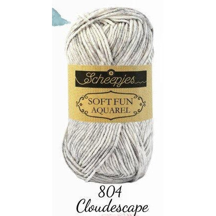 Scheepjes Soft Fun Aquarel Cloudescape 804 - 7