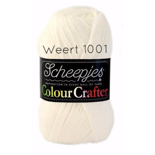 Scheepjes Colour Crafter Yarn Weert 1001 - 14