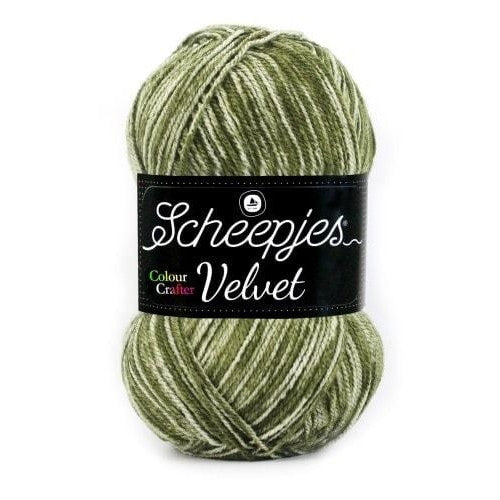 Scheepjes Colour Crafter Velvet Yarn Chaplin 855 - 15