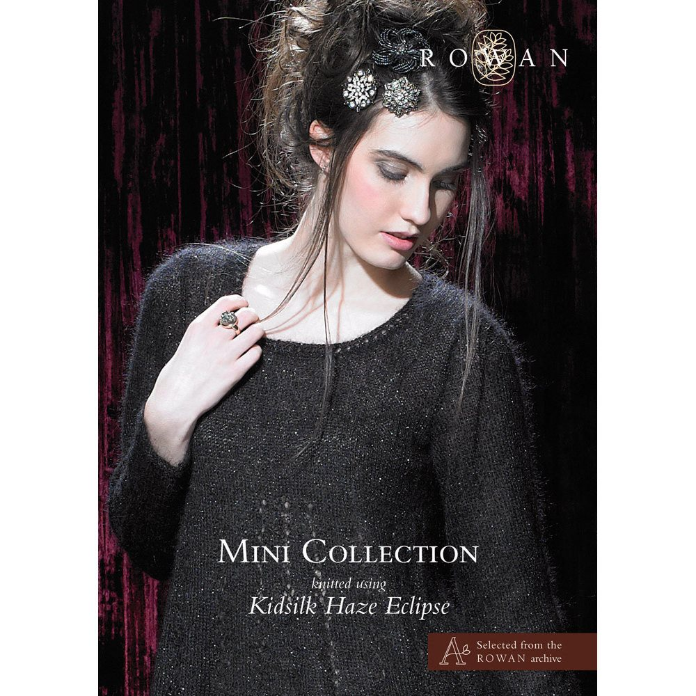 Rowan Mini Collection Kidsilk Haze Eclipse Pattern Book  - 1