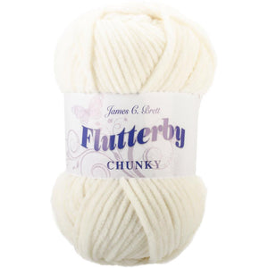 James C. Brett Flutterby Chunky Yarn-Yarn-Cream 04-