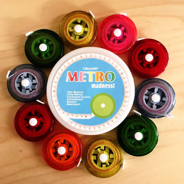 "Metro Tape Measure 60""-Notions-Paradise Fibers"