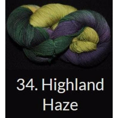 Done Roving DK Frolicking Feet Yarn Highland Haze 34 - 16