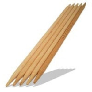 Brittany Birch 10 inch Double Point Needles  - 1