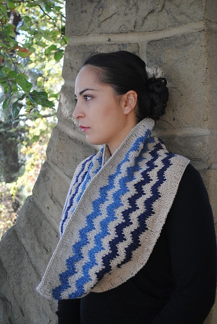 Elsebeth Lavold Sierra Mountain Cowl Pattern  - 4