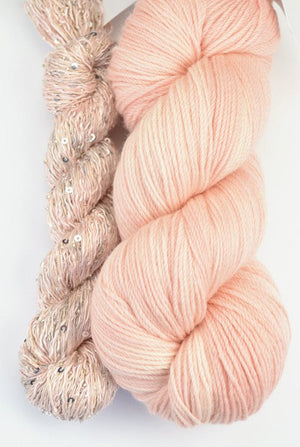 Artyarns Lazy Days Shawl Kit Blush - 5