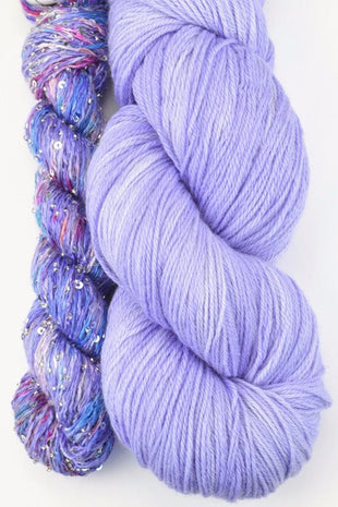 Artyarns Lazy Days Shawl Kit Purple - 2