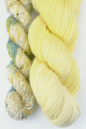 Artyarns Lazy Days Shawl Kit Yellow - 7