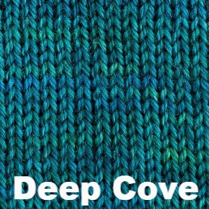 Sweet Georgia Tough Love Sock - Semi Solids-Yarn-Deep Cove-