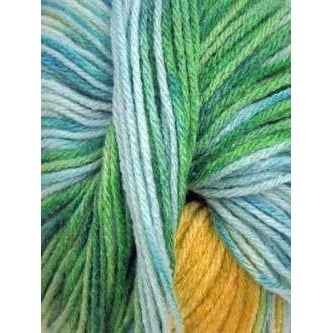 Paradise Fibers Euro Baby Babe Stripes - Yellow, Green, Blue