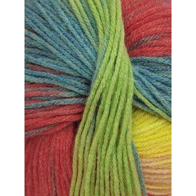 Paradise Fibers Euro Baby Babe Stripes - Yellow, Red, Blue, Mint