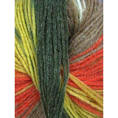 Paradise Fibers Euro Baby Babe Stripes - Olive, Orange, Brown