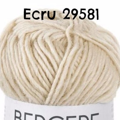 Bergere de France Pure Nature Yarn Ecru 29581 - 3