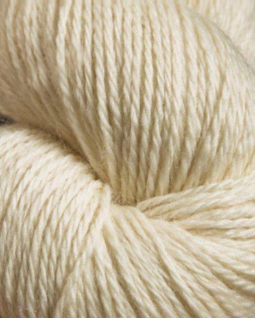 Jagger Spun Undyed Natural Yarn 2.25lb Cone - Heather - Edelweiss-Weaving Cones-Paradise Fibers