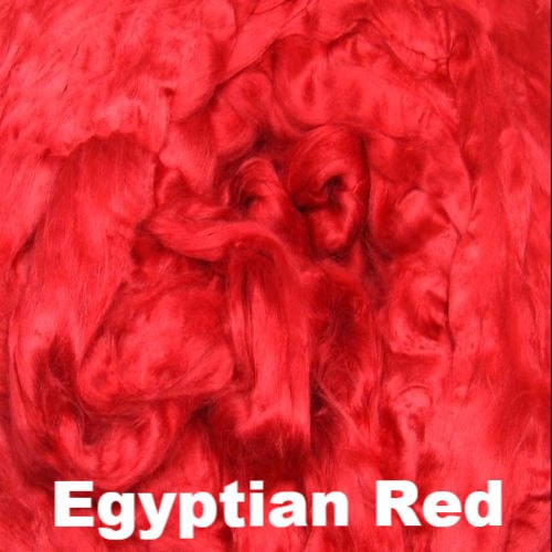 Ashland Bay Dyed Bamboo Top Fiber 4oz / Egyptian Red - 4