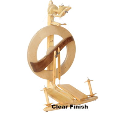 Kromski Fantasia Spinning Wheel Clear Finish - 1