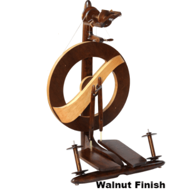 Kromski Fantasia Spinning Wheel Walnut Finish - 3