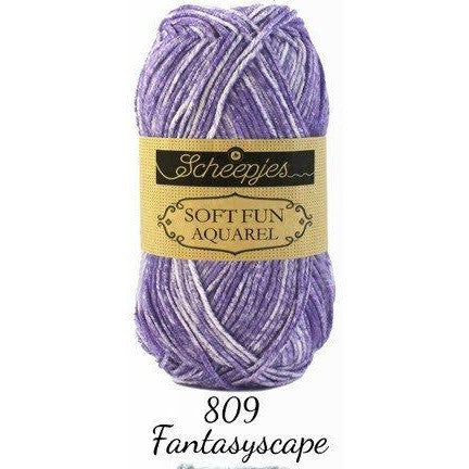 Scheepjes Soft Fun Aquarel Fantasyscape 809 - 8