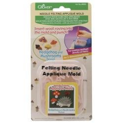 Felting Needle Applique Mold  - 1