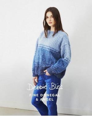 Debbie Bliss Tonal Stripe Sweater Pattern Leaflet