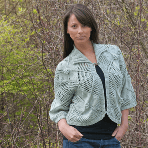 Floral Lace Jacket Kit in Ultra Pima Cotton-Kits-Paradise Fibers