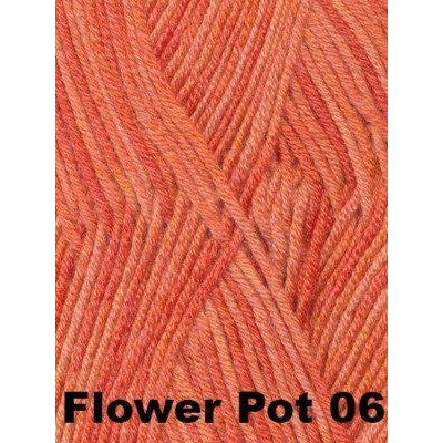 Paradise Fibers Yarn Debbie Bliss Baby Cashmerino Tonals Flower Pot 06 - 9