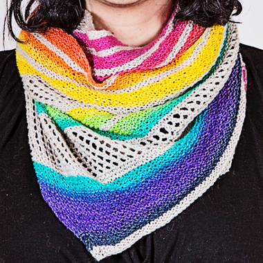 For the Love of Rainbows Pattern by Knitting Expat Designs-Patterns-Paradise Fibers