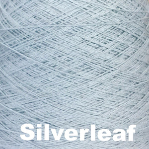 Paradise Fibers Special 8/2 Cotton Yarn-Weaving Cones-Silverleaf-
