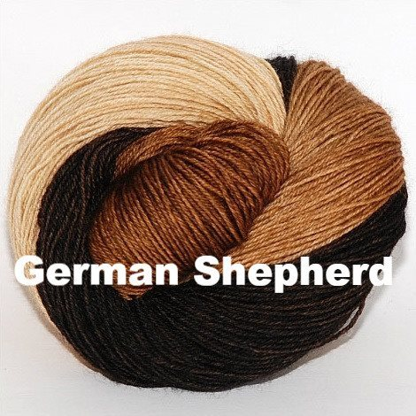 Ancient Arts DK Yarn - Woof Collection German Shepherd - 10