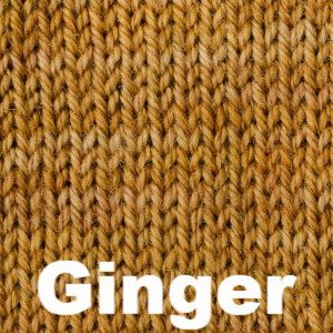 Sweet Georgia Tough Love Sock - Semi Solids-Yarn-Ginger-