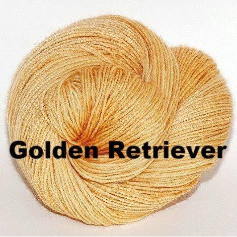 Paradise Fibers Yarn Ancient Arts DK Yarn - Woof Collection Golden Retriever - 11