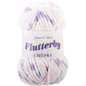 James C. Brett Flutterby Chunky Yarn-Yarn-Grape Twist 07-