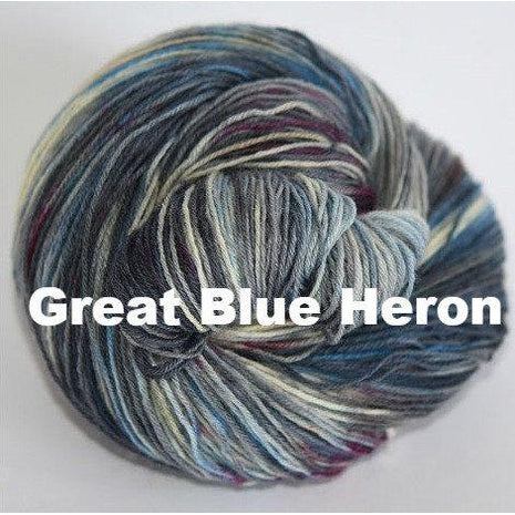 Ancient Arts DK Yarn- Variegated Great Blue Heron - 30