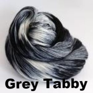 Ancient Arts DK Yarn - Meow Collection Grey Tabby - 9