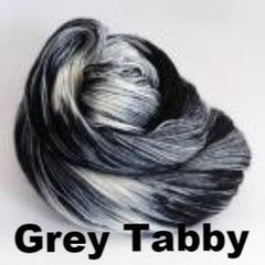 Paradise Fibers Yarn Ancient Arts DK Yarn - Meow Collection Grey Tabby - 9
