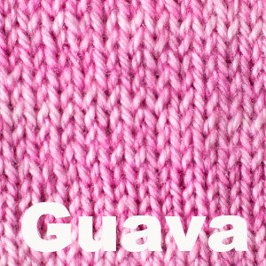 Paradise Fibers Yarn Sweet Georgia Tough Love Sock - Semi Solids Guava - 23
