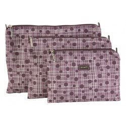 Hadaki Zip Carry-All Pod (3 Sizes) Small / Plum Perfect Plaid - 7
