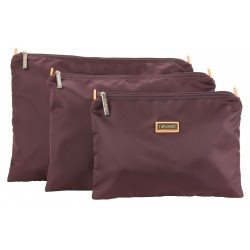 Hadaki Zip Carry-All Pod (3 Sizes) Small / Plum Perfect Solid - 5