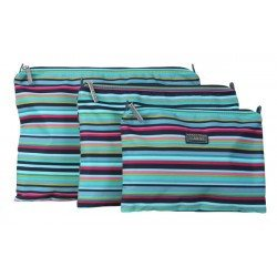 Hadaki Zip Carry-All Pod (3 Sizes) Small / Dixie Stripes - 2