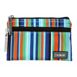 Hadaki Jewelry Pouch Mardi Gras Stripes - 1