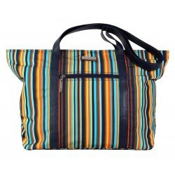 Hadaki Cosmopolitan Tote Arabesque Stripes - 2