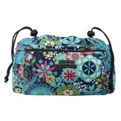 Paradise Fibers Project Bag Hadaki Tote Organizer (2 Sizes) Large / Dixie Daisies - 4