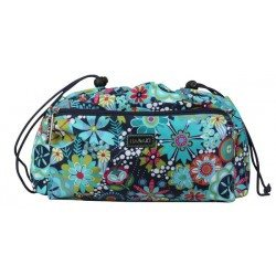 Paradise Fibers Project Bag Hadaki Tote Organizer (2 Sizes) Small / Dixie Daisies - 3