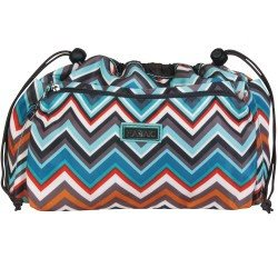 Hadaki Tote Organizer (2 Sizes)-Project Bag-Large-Luna Blue Safari Zig Zag-