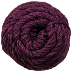 Brown Sheep Cotton Fine Yarn (1/2 lb Cone)-Weaving-Brown Sheep-Hearty Merlot CW780 (DISCONTINUED)-Paradise Fibers