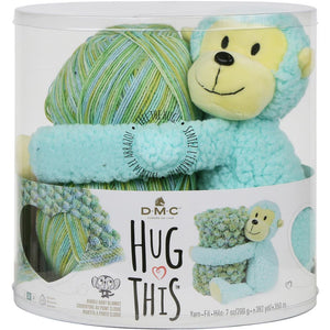 Hug This! Baby Blanket Kits-Kits-Monkey-